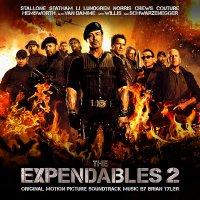 """Обложка саундтрека к фильму """"Неудержимые 2"""" / The Expendables 2 (2012)"""