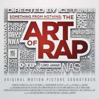 """Обложка саундтрека к фильму """"Кое-что для ничего: Искусство рэпа"""" / Something from Nothing: The Art of Rap (2012)"""