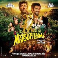 """Обложка саундтрека к фильму """"Джунгли зовут! В поисках Марсупилами"""" / Sur la piste du Marsupilami (2012)"""
