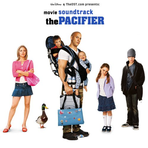 The pacifier movie sound track